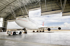 Boeing 747 royalty free stock image