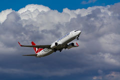 Boeing 737 Plane Royalty Free Stock Images