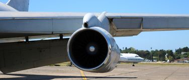 Boeing 707 presidentieel vliegtuig van Argentinië royalty-vrije stock fotografie