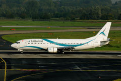 Boeing 737-4Q8 tailwind airlines Stock Photos