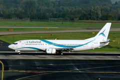 Boeing 737-4Q8 tailwind airlines Royalty Free Stock Images
