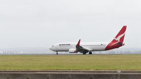 Boeing 737 Qantas Airways Stock Photography