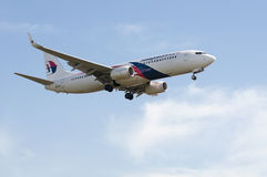 Boeing 737  Ready for Landing Stock Images