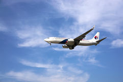 Boeing 737  Ready for Landing Stock Photography