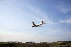 Boeing 737  Ready for Landing Royalty Free Stock Photo