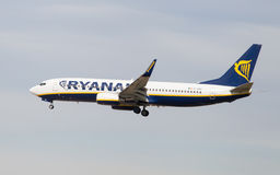 737 boeing ryanair Fotografering för Bildbyråer