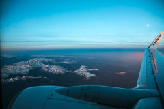 The boeing 737-800 of the Ryanair company Royalty Free Stock Photo