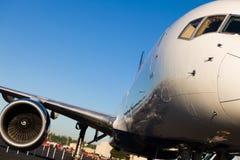 Boeing samolot 757 obrazy stock