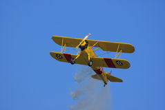 Boeing-Stearman biplane Stock Photos