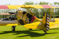 Boeing Stearman biplane Royalty Free Stock Photo