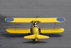 Boeing Stearman Trainer Stock Photos