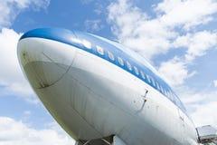 747 boeing stråljumbo Royaltyfria Foton