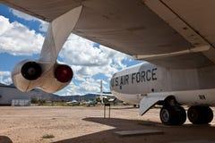 Boeing Stratofortress B-52B motor Royaltyfri Bild