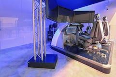 Boeing symulant Zdjęcia Stock