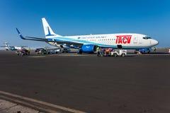Boeing 737-800 TACV Stock Photo