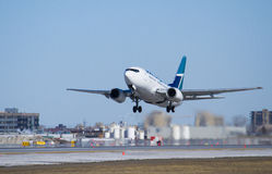 Boeing take off Stock Photography