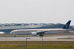 Boeing 777 Take Off Royalty Free Stock Image