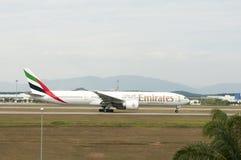 Boeing 777 Take Off Stock Photos