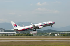 Boeing 737 Take Off Stock Images