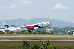Boeing 737 Take Off Royalty Free Stock Images