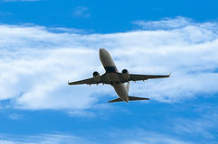 Boeing 737 Take Off Royalty Free Stock Photography