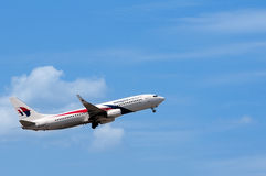 Boeing 737 Take Off Stock Photography