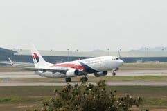 Boeing 737 Take Off Royalty Free Stock Photo