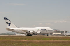 Boeing 747 Take Off Stock Photo