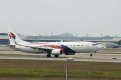 Boeing 737 tar av Arkivfoton