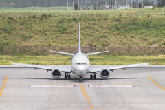 Boeing 737-500 Royalty Free Stock Photography
