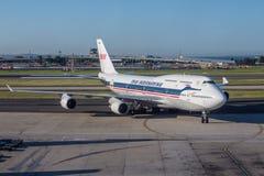 Boeing 747 stock photos
