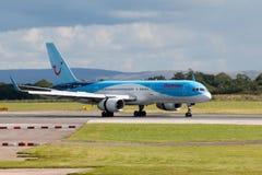 757 boeing thomson Royaltyfri Fotografi