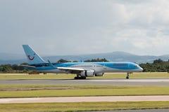 757 boeing thomson Arkivfoton