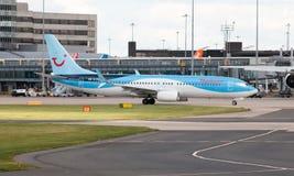 737 boeing thomson Arkivfoto