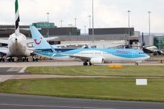 737 boeing thomson Royaltyfria Bilder