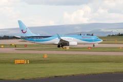 737 boeing thomson Arkivbild