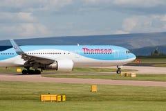 767 boeing thomson Royaltyfria Bilder
