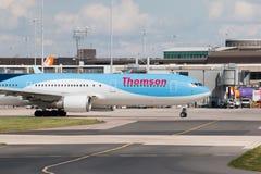767 boeing thomson Royaltyfri Foto