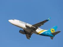 Boeing A319, Ukraine International Airlines Stock Photo
