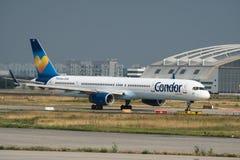Boeing 757-300 van Condorluchtvaartlijnen Royalty-vrije Stock Fotografie