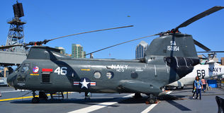 The Boeing Vertol CH-46 Sea Knight Stock Image