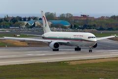 Boeing 767 Vliegtuig royalty-vrije stock afbeelding