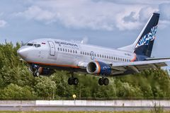 Boeing 737-500 VP-BKU Nordavia - Regional Airlines Stock Photos