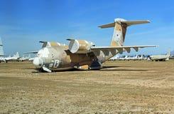 Boeing YC-14 samolot w Pima Lotniczym i Astronautycznym muzeum Zdjęcia Stock