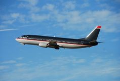 Boeing737 passenger jet Stock Photography