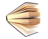 Boek dat op witte achtergrond wordt geïsoleerdk. Woordenboek Royalty-vrije Stock Foto