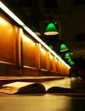 Boek in de staatsbibliotheek van Victoria Royalty-vrije Stock Foto