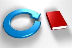 Boek en milieu vector illustratie