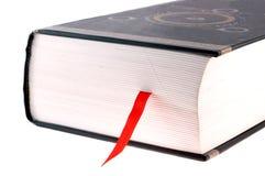 Boek met rode referentie Stock Afbeelding