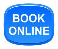boek online knoop vector illustratie